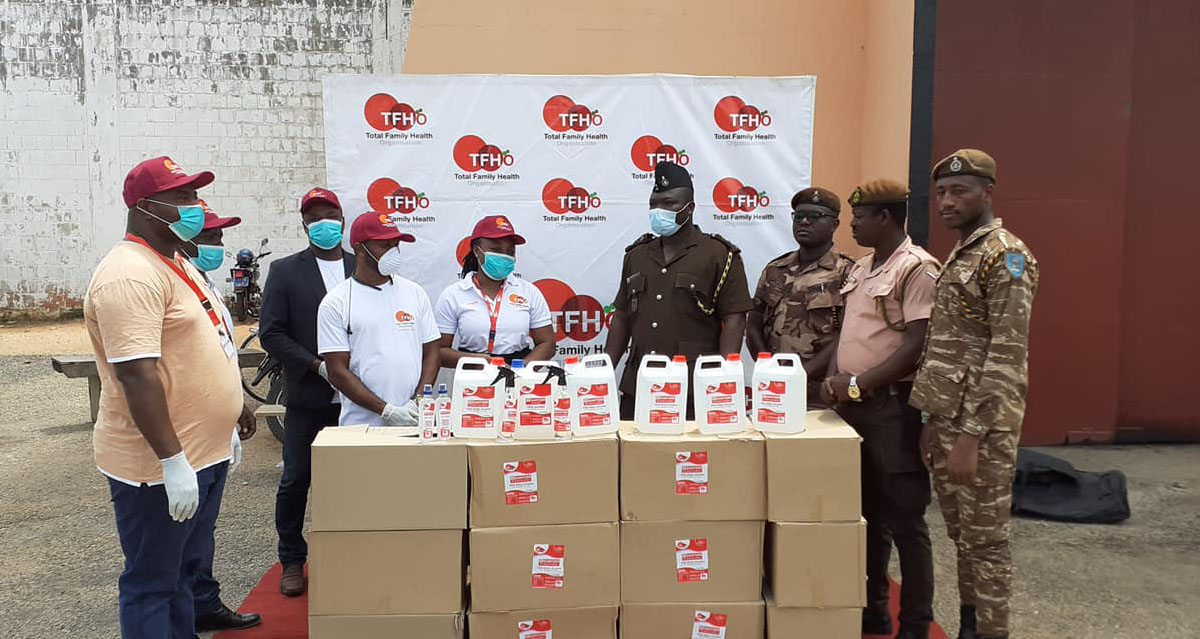 TFHO Prisons Distribution_TFHO Ghana